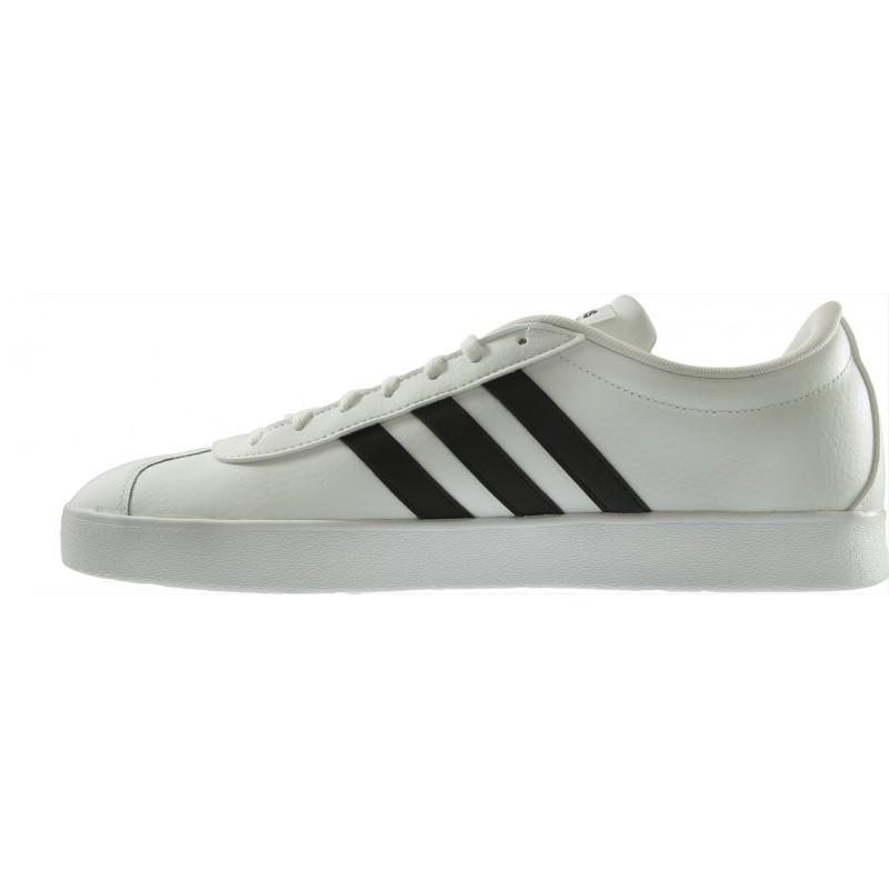 Adidas - VL Court 2.0 Blanco Negro