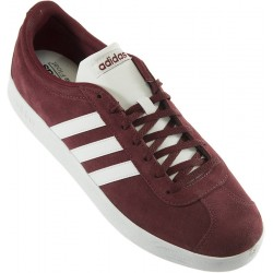Adidas - VL Court 2.0 Granate Blanco